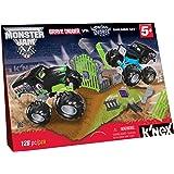 K'NEX Monster Jam Grave Digger versus Son-uva Digger