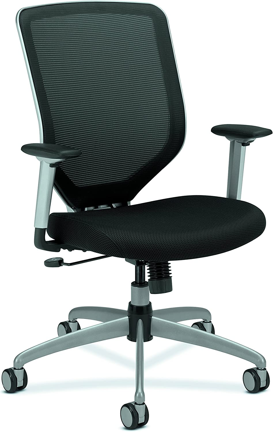 HON Boda High-Back Work Chair- Mesh Computer Chair for Office Desk, Black (HMH01)