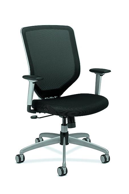 HON Boda High Back Work Chair  Mesh Computer Chair For Office Desk, Black