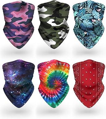 Face G454 Balaclava Bandana Face Mask Neck Tube Scarf Snood Warmer headgear