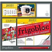 Frigobloc 2019 spécial Robot cuiseur - Calendrier d'organisation familiale