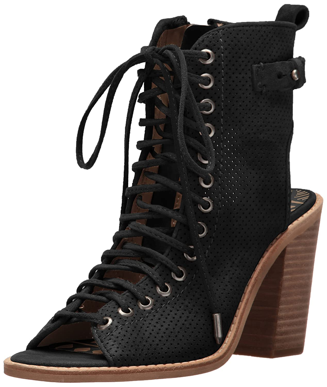 Dolce Vita Women's Loren Boot B01MRNBWY4 6 B(M) US|Black Suede
