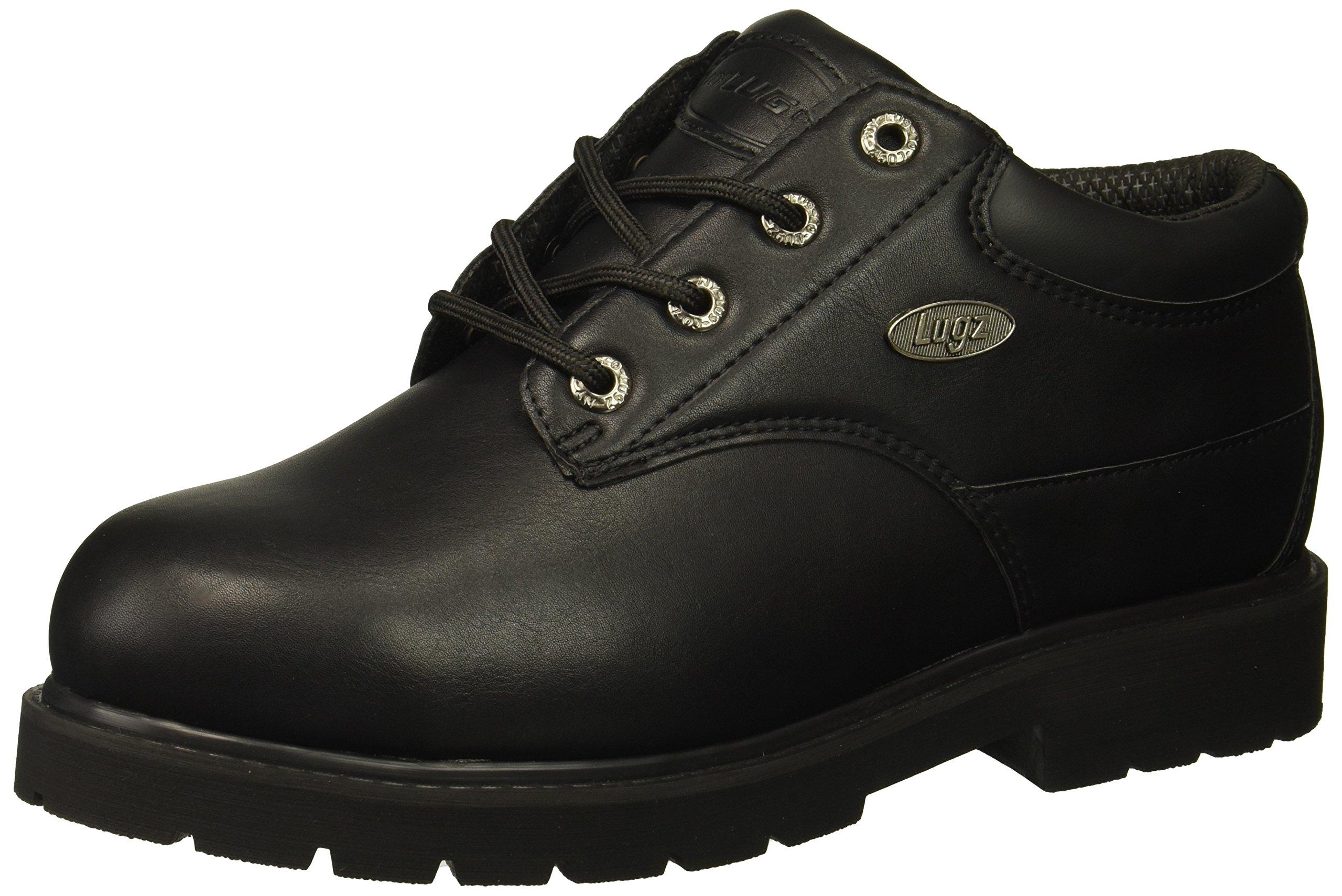 Lugz Men's Drifter Lo Steel Toe Fashion Boot, Black, 9 D US