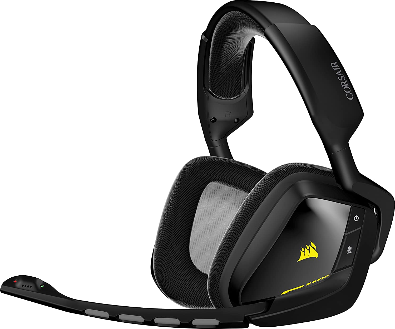 Corsair Gaming VOID Wireless USB Dolby 7.1 - Auriculares gaming para PC cómodos, negro (CA-9011132-EU)