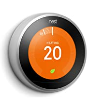 Nest Apprendre Thermostat, 3rd generation - acier inoxydable, No Installation