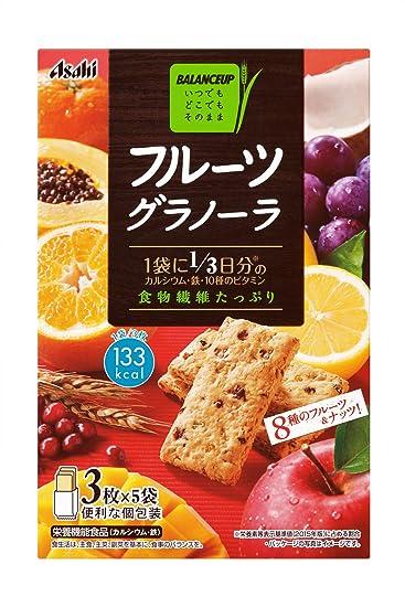 balance de alimentos Grupo Asahi cajas 150gX5 de granola de frutas