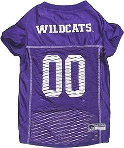 Littlearth Kansas State Wildcats Dog Cat Mesh Jersey Bandana L//XL