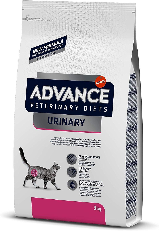 Advance Veterinary Diets Urinary - Pienso para Gatos, 3 kg