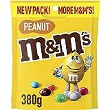 M&M's Peanut Chocolate Large Bag, 380 g