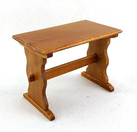 Amazon.es: Casa De Muñecas 1:12 Muebles Sala Comedor Cocina Nogal ...