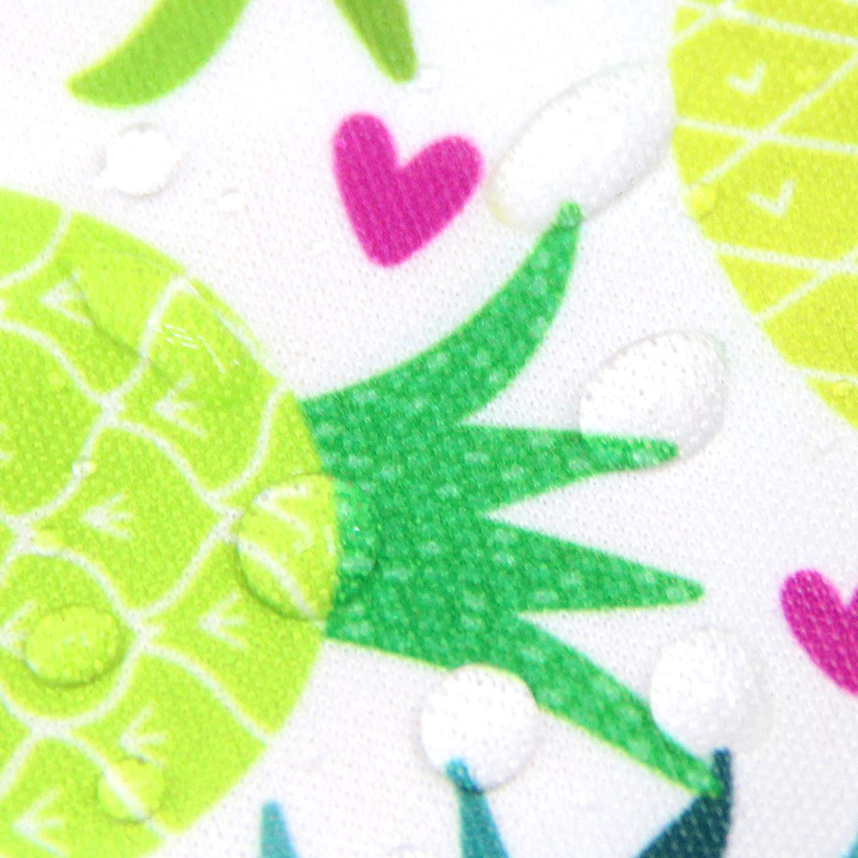 6-24 Months Wegreeco Baby Long Sleeve Bib ,Washable//Lightweight//Wipeable Baby Bib Shirt with Pocket Toddler Childrens Leak-Free Baby Bib with Sleeves Pineapple