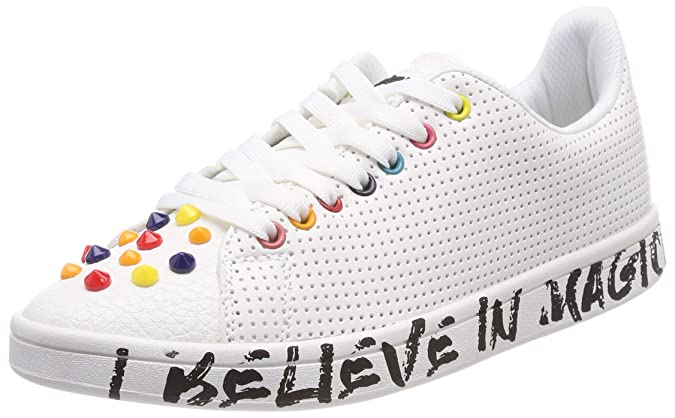 Amazon.com | Desigual Womens Shoes_Cosmic Candy Low-Top Sneakers | Fashion Sneakers