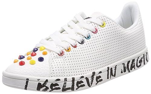Blanco 1000 Shoes cosmic Mujer Zapatillas Para Candy Desigual FwvC1qx