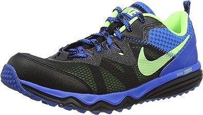Nike Dual Fusion Trail, Calzado Deportivo para Hombre, Black/Ghost Green-Soar, 41 EU: Amazon.es: Zapatos y complementos
