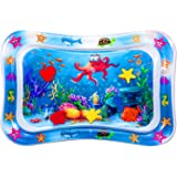 Bellababy Tummy Time Premium Pat and Play Water Mat Inflatable Play Activity Center for Babies and Toddlers