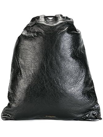 2ed2f7cfe9 Balenciaga Homme 459588AOU451000 Noir Cuir Sac À Dos: Amazon.fr: Vêtements  et accessoires