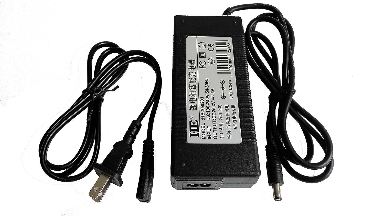 Hebang 25,2V 3A Three-stages Lithium chargeur de batterie 21,6V 22,2V 24V chargeur de batterie Vélo électrique chargeur 1450014650174901850018650Batterie au lithium polymère 26500Lot DC chargeur Interface 250203