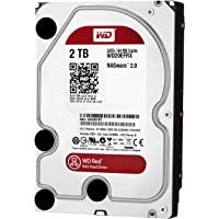 WD - WD20EFRX Red - Disque dur interne (Bulk) NAS 2 To 3,5 pouces SATA intellipower