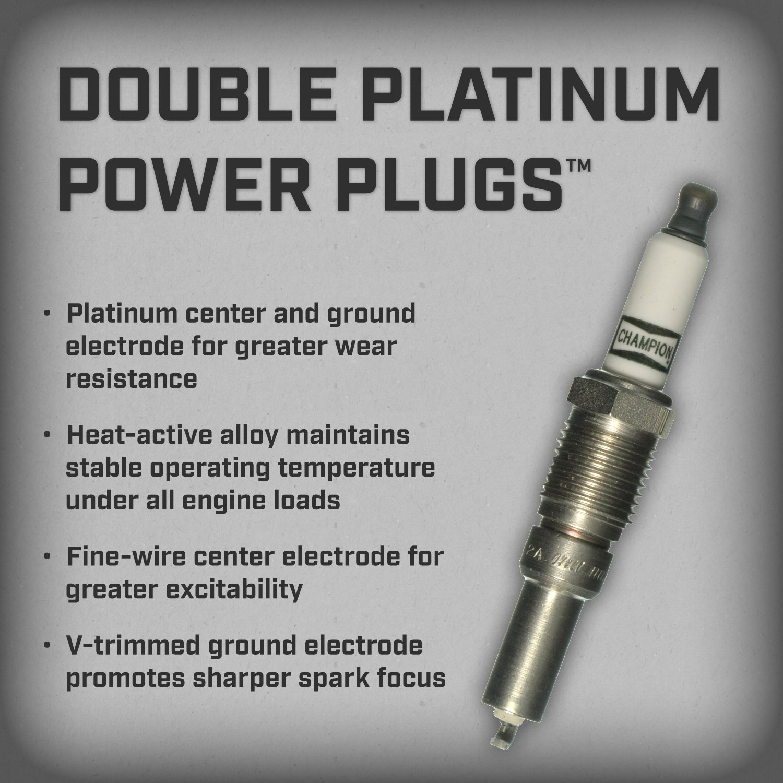 Amazon.com: Champion 7989 Double Platinum Power Replacement Spark ...