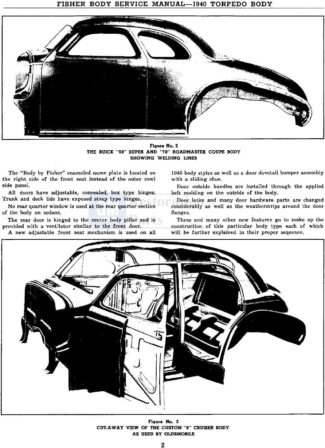 Service & Repair Manuals 1941 Oldsmobile Shop Service Repair ...