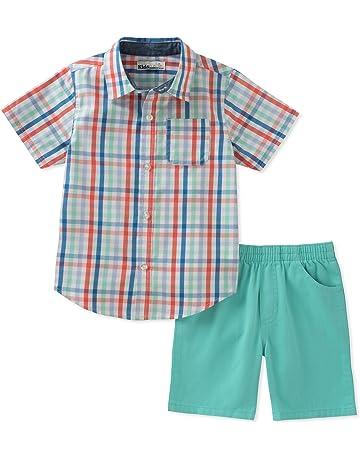 0a12c6682 Kids Headquarters Boys' 2 Pieces Shirt Shorts Set