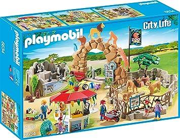 Zabawki Playmobil 46 Teile Playmobil City Life Zoofahrzeug 6636 mit viel Zubehör ab 4 Jahren