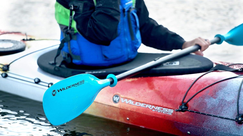 Adjustable Carbon Fiber Shaft 220-240cm Wilderness Systems Apex Glass Recreation//Touring Kayak Paddle Fiberglass Blade