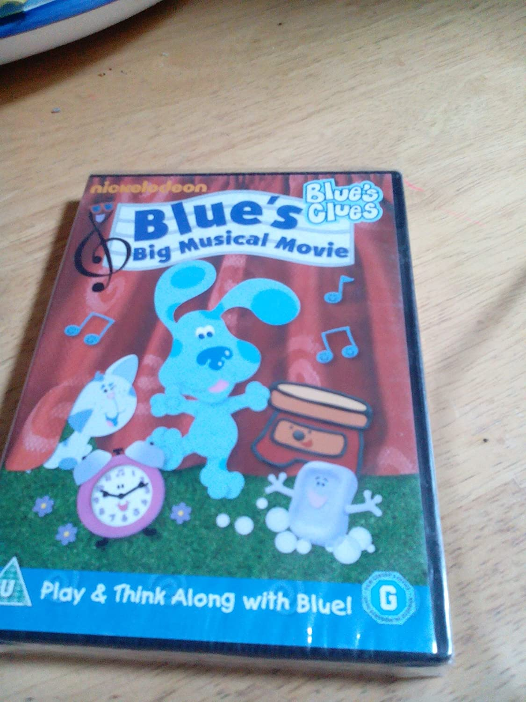 blue u0027s clues blue u0027s big musical movie 80 mins new sealed r2