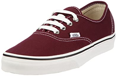 vans authentic damen rot