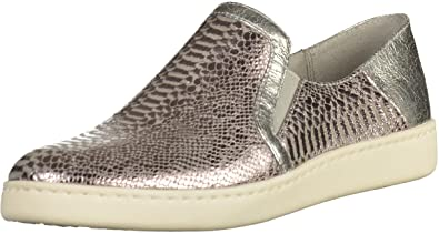 tamaris damen slipper silber
