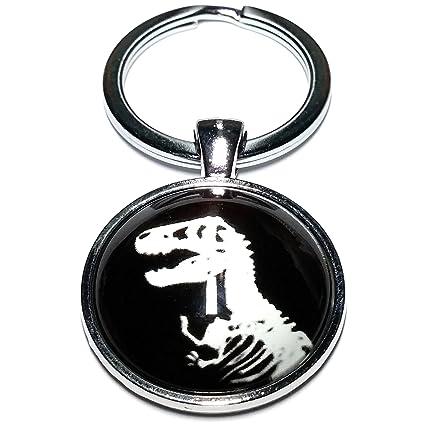 Cameleon-Shop Llavero Metal Esqueleto Dinosaurio T. rex ...