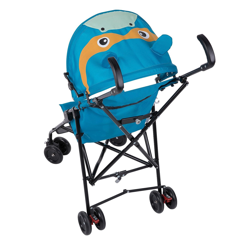 farbenfroh und praktisch kompakter Kinderbuggy f/ür unterwegs Safety 1st 118769000 Buggy Crazy Peps Hippo mehrfarbig
