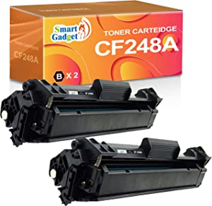 Smart Gadget Compatible 48A Toner Cartridge Replacement for HP CF248A 248A to usd with Laserjet MFP M29a M29w M28a M28w Pro M15a M15w M16a M16w Laser Printer (Black, 2-Pack)