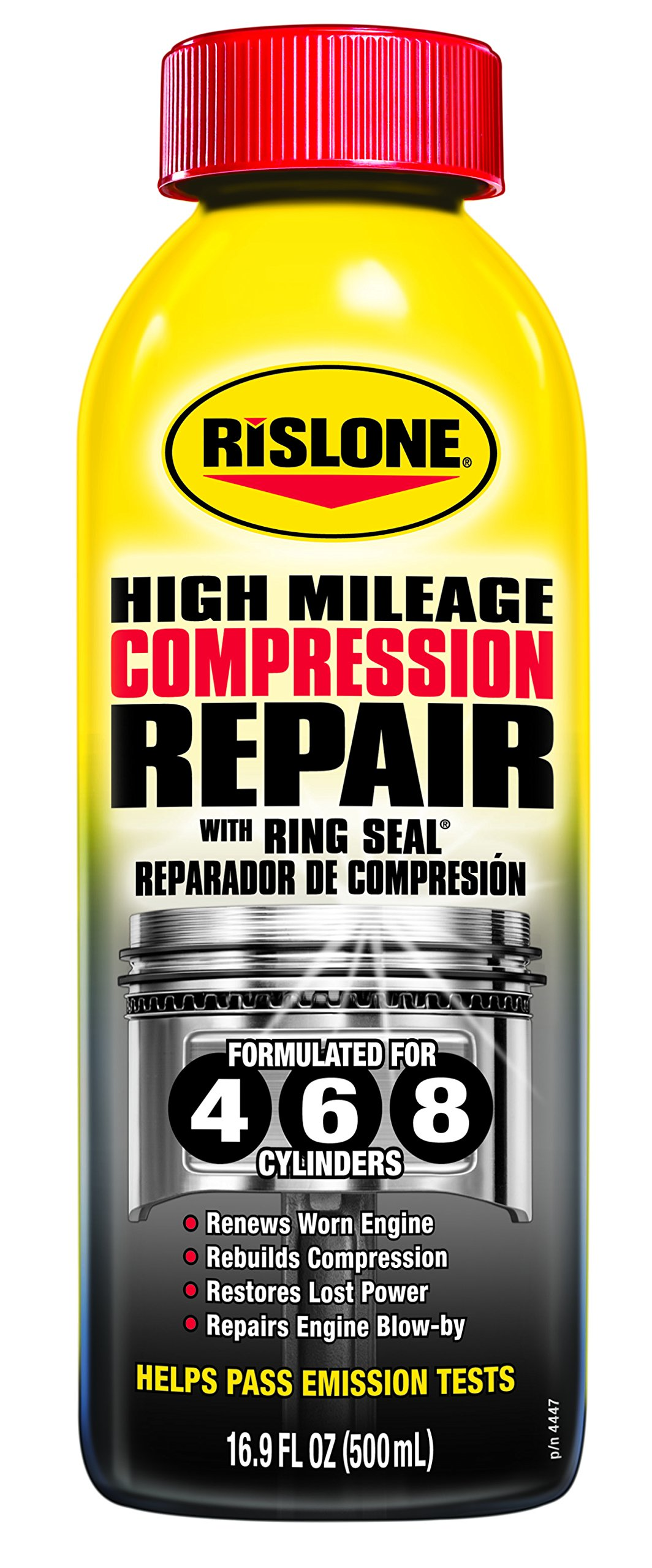 Rislone 4447-12PK Compression Repair with Ring Seal - 16.9 oz., (Pack of 12)