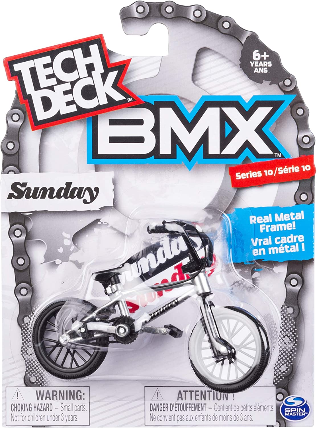Tech Deck Bmx Finger Bike Sunday Blue Black Series 10 Skateboards Amazon Canada