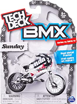 Amazon.com: TECH DECK BMX Bike Series 10 Sunday - Bicicleta ...