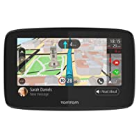 TomTom Car Sat Nav GO 5200, 5 Inch with Handsfree Calling, Siri and Google Now, Updates via Wi-Fi, Lifetime Traffic via SIM Card and World Maps, Smartphone Messages, Capacitive Screen