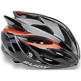 Rudy Project Rush Helmet Black-Red Fluo (Shiny) 2018 Fahrradhelm