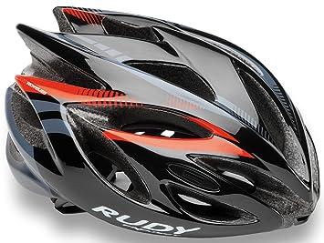 Rudy Project Rush - Casco de Bicicleta - Negro Contorno de la Cabeza 51-54