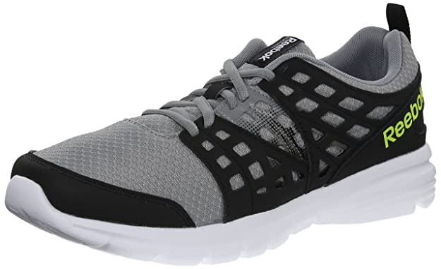 0fd1da94dd5 Reebok Men s Speed Rise Running Shoes Flat Grey Black Solar Yellow White  Reebok 12 D(M) US  Buy Online at Low Prices in India - Amazon.in