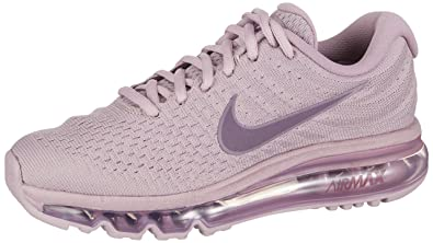 differently 93fb0 97b7a Nike Air Max 2017, Chaussures de Gymnastique Femme, Rose (Plum Fog Pro
