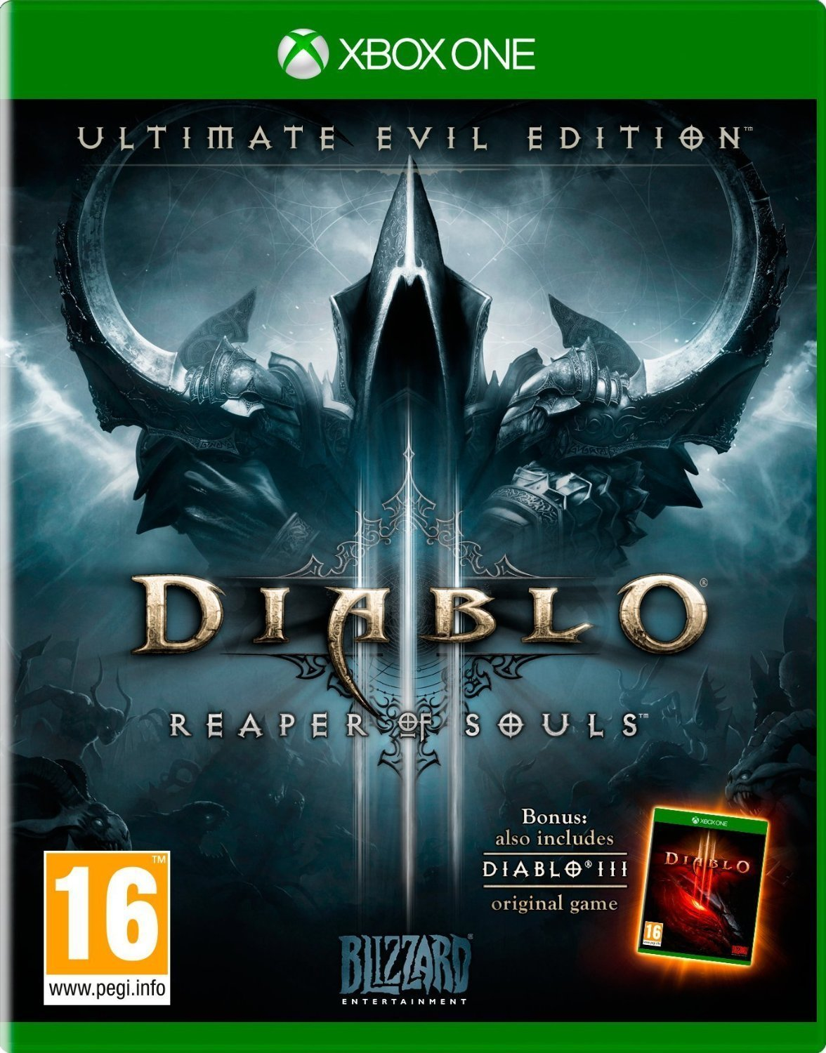 Amazon diablo iii reaper of souls ultimate evil edition diablo iii reaper of souls ultimate evil edition xbox one by blizzard entertainment sciox Choice Image