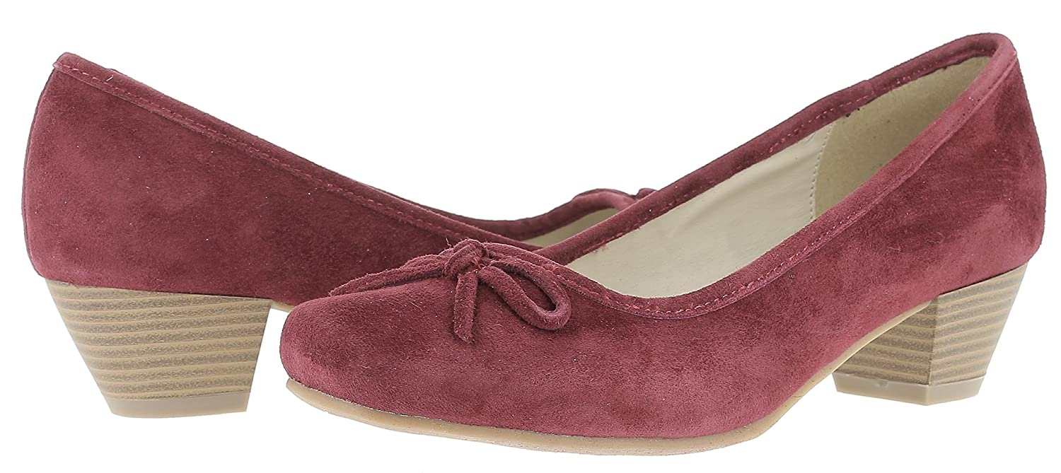 HIRSCHKOGEL 3003401 by Andrea Conti Damen 3003401 HIRSCHKOGEL Pumps Rot (Bordo) 55a5d7