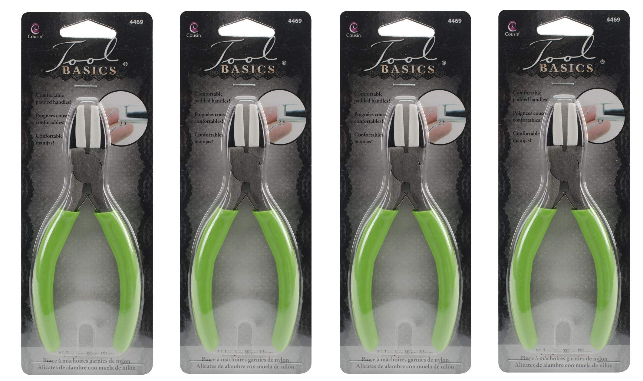 Cousin Nylon Jaw Craft and Jewelry Pliers (1, Fоur Расk)