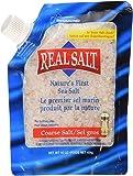 Redmond Real Salt, Nature's First Sea Salt, Coarse Salt, 16 Ounce Pouch(3-Pack)