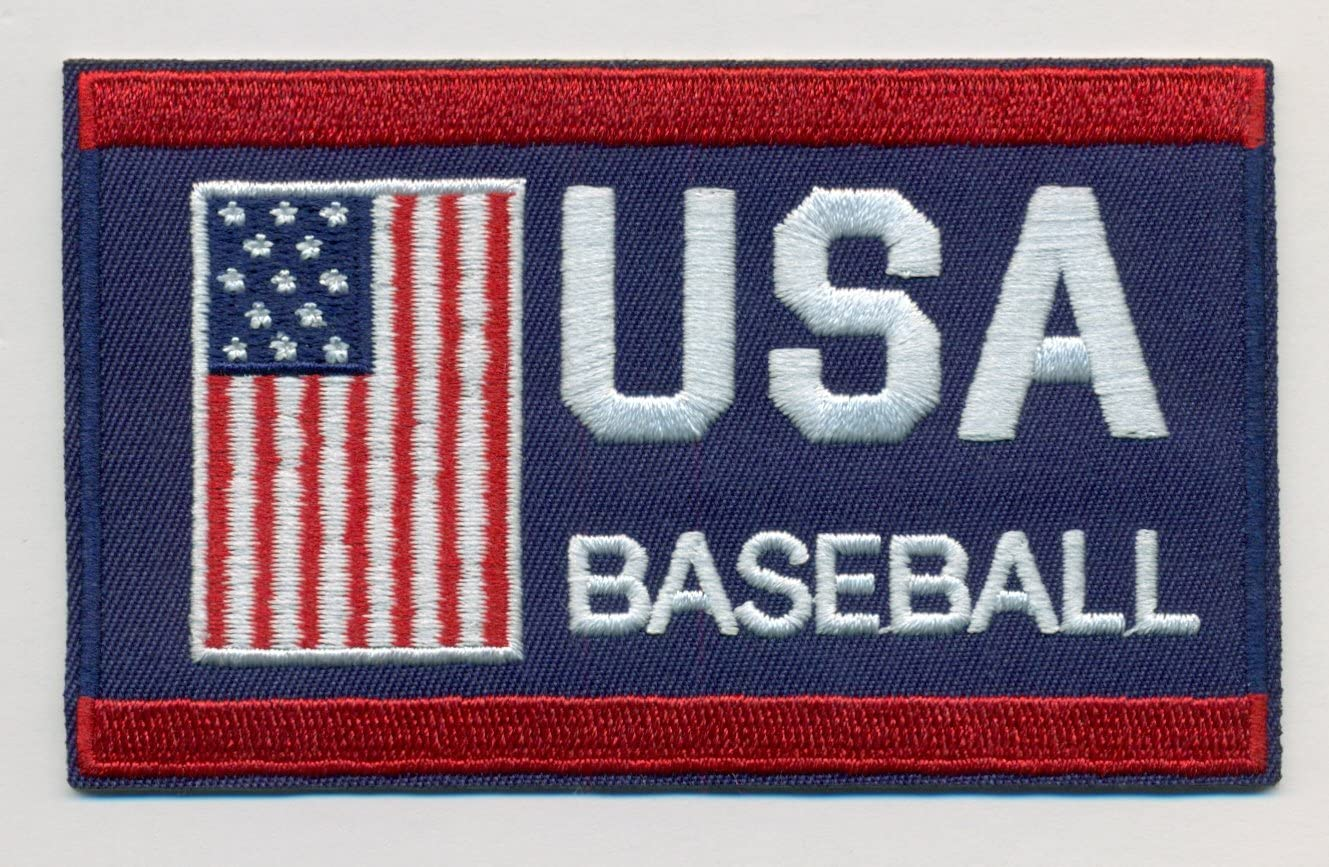 Iron On//Sew On Star Game -Cleveland 2019 Baseball 2 Embroidered Patches