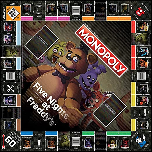 USAopoly Five Nights at Freddy's Board Game