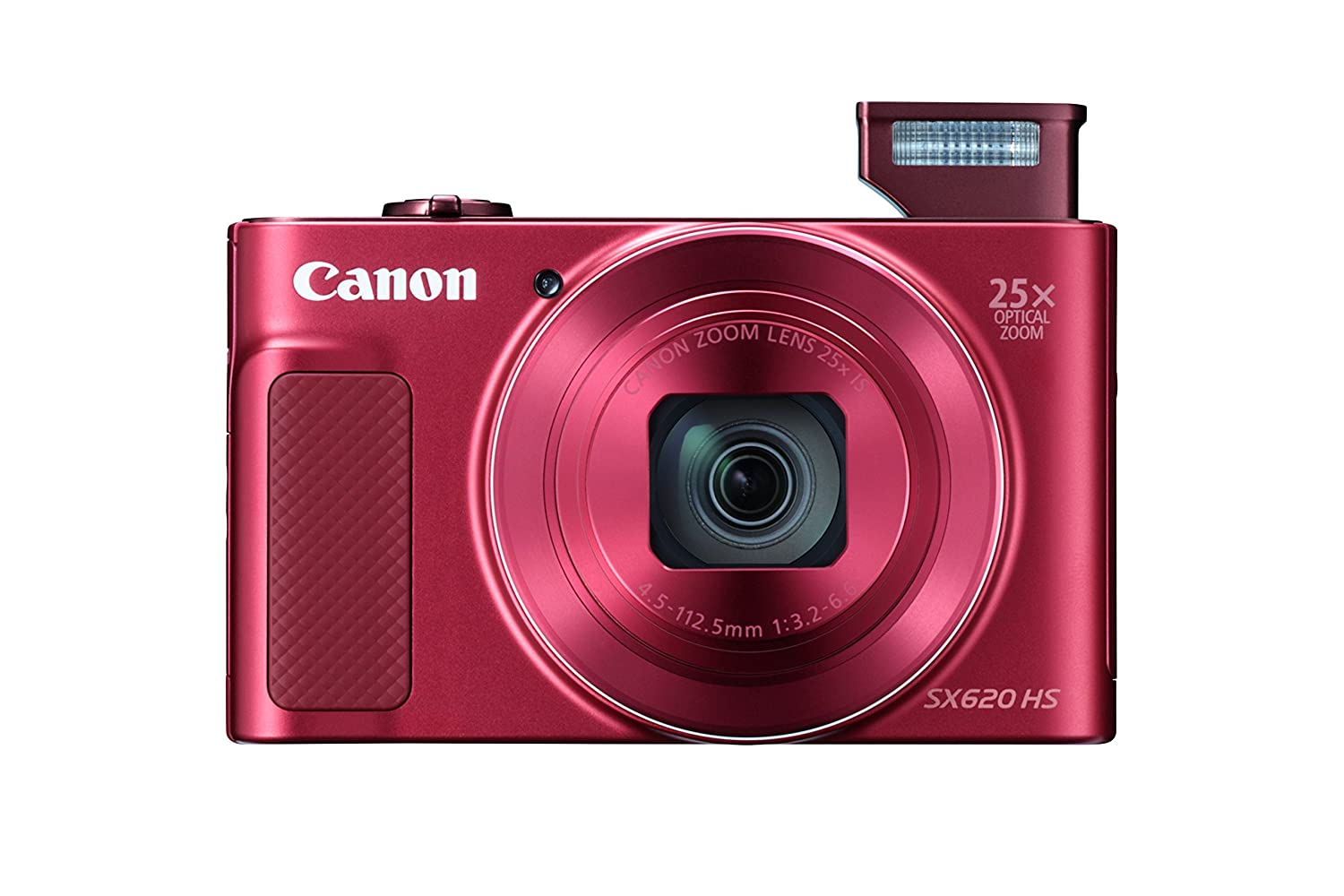 Amazon.com : Canon PowerShot SX620 Digital Camera w/25x Optical Zoom -  Wi-Fi & NFC Enabled (Red) : Camera & Photo