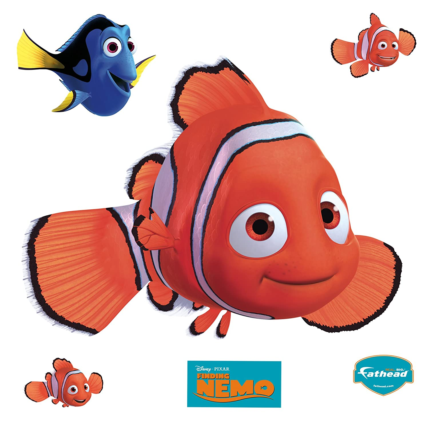 Amazon.com: Finding Nemo Wall Graphic: Home & Kitchen