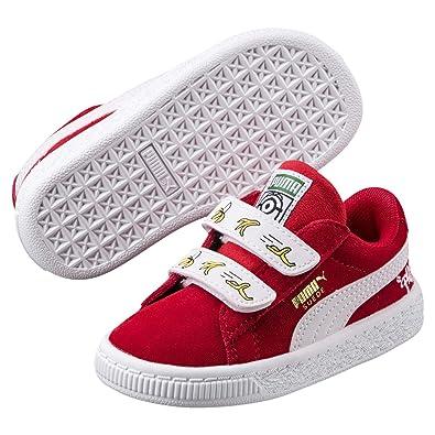 Puma Unisex Kids  Minions Suede V Ps Trainers  Amazon.co.uk  Shoes ... e31428423